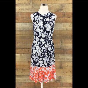 ELIZA J Women's Floral Sleeveless Multicolor Dress